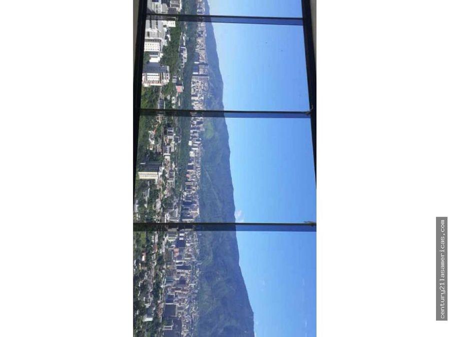 se vende apto con increible vista colinas de bello monte