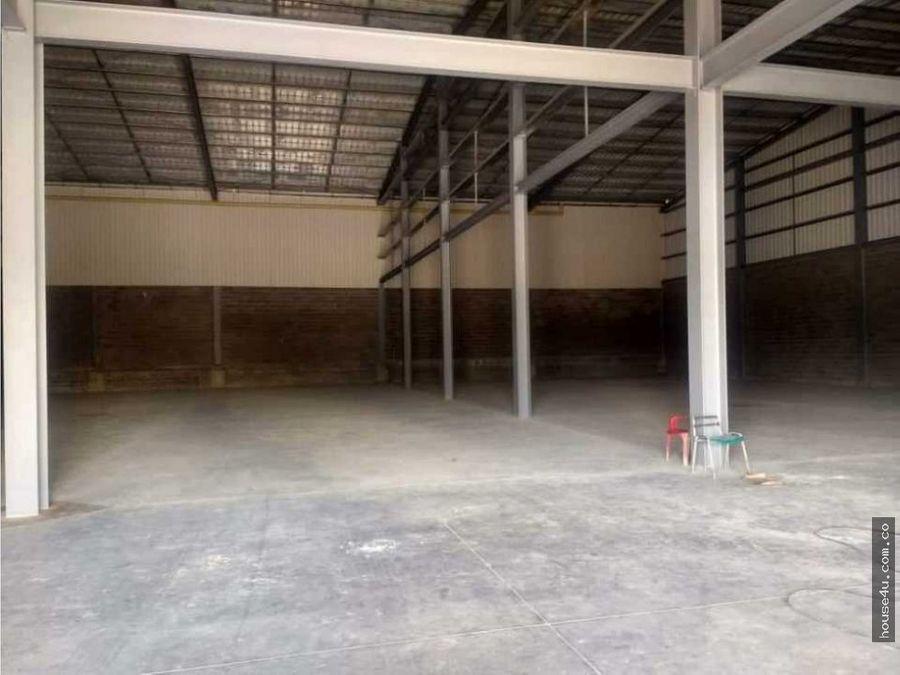 se vende bodega en parque industrial en barranquilla