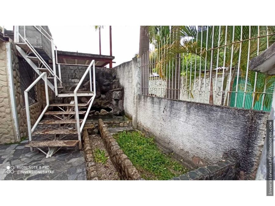 se vende casa 3hab2b3petrza pozos del valle rio grande guatire