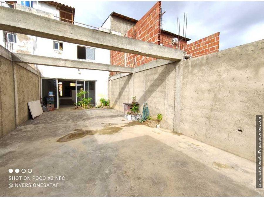 se vende casa 2hab3b2pe2trza san francisco villa avila guatire