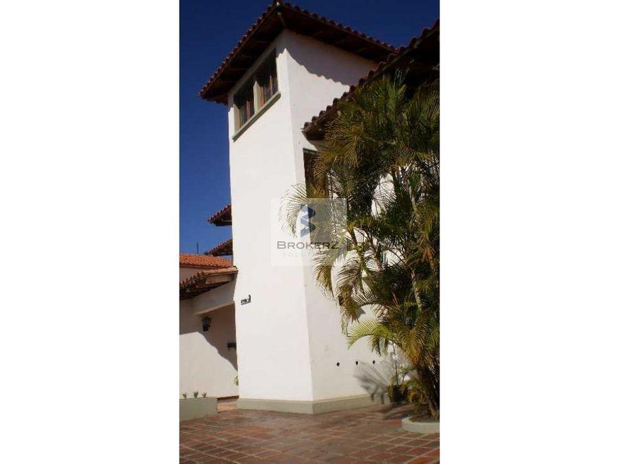 venta casa colinas de santa monica caracas