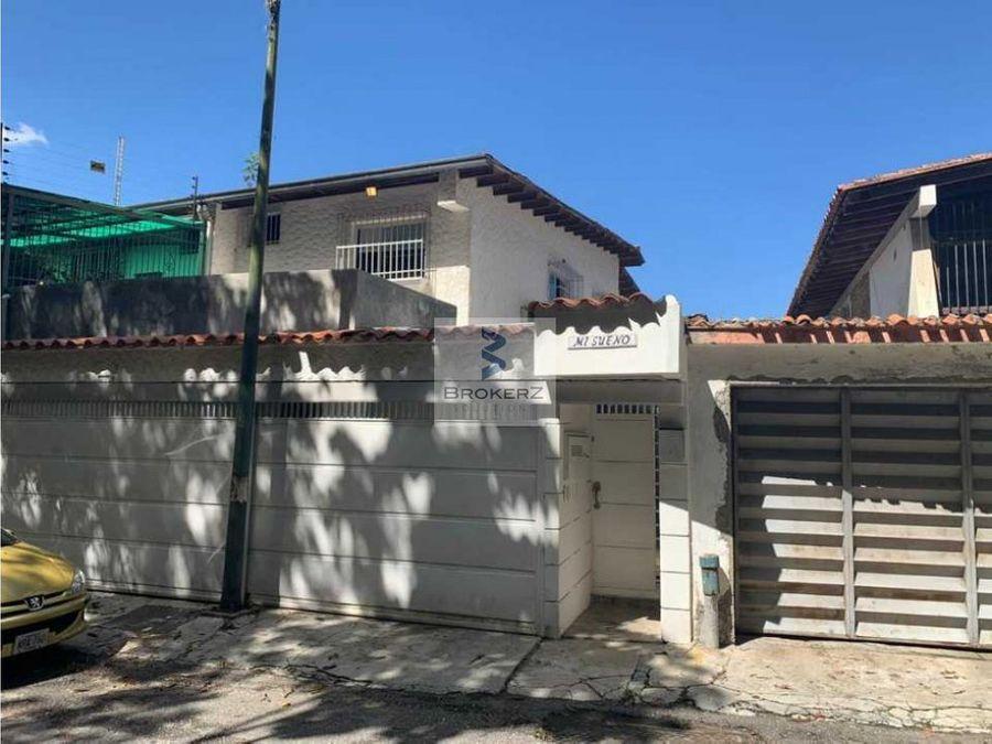 venta casa colinas de los chaguaramos caracas