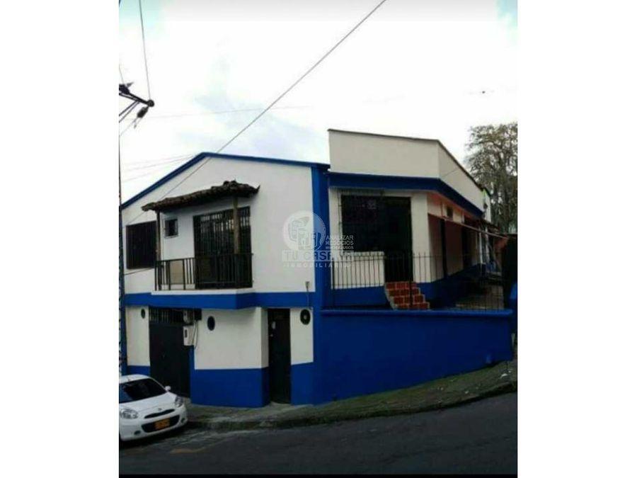 se vende casa comercial av santander pereira