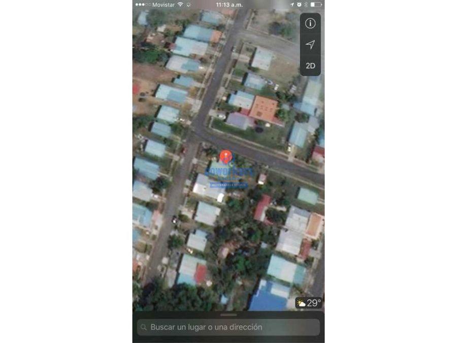 se vende casa con 600 mts de terreno y deposito dos rios tocumen