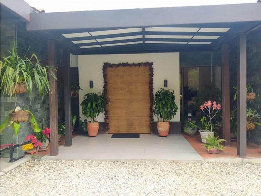se vende casa campestre en el retiro sector de alta valorizacion