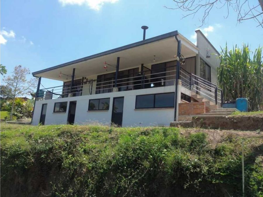 se vende casa campestre sector tribunas