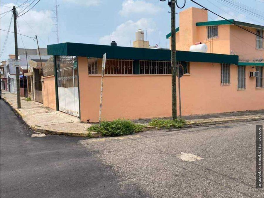 se vende casa en colonia rovirosazona no inundable