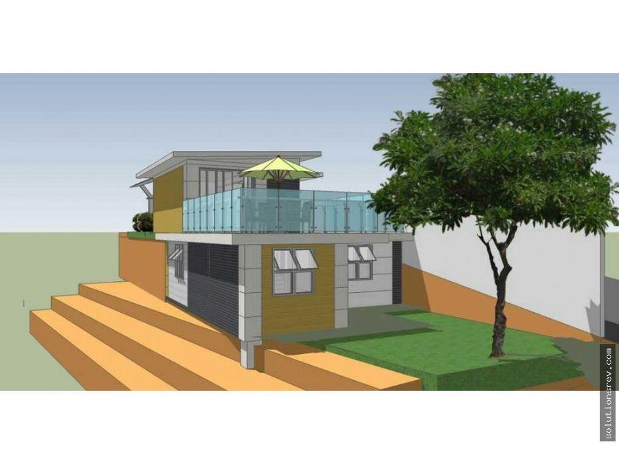 se vende casa en el hatillo en construccion con un avance de 75