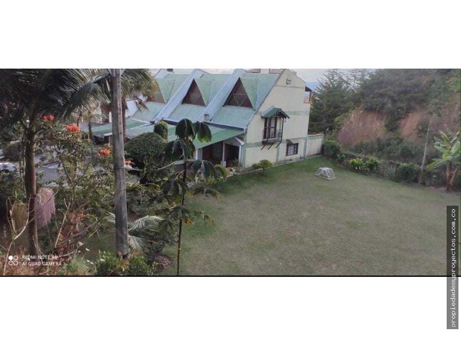 se vende casa en el sector de rionegro