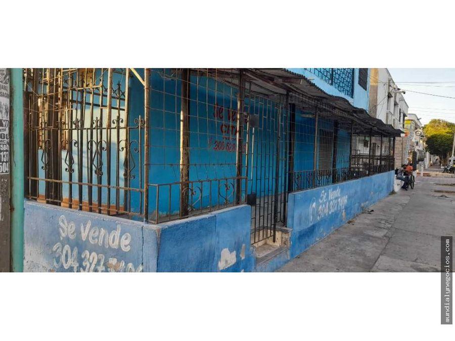 se vende casa en exelente zona comercial cra 8 barranquilla