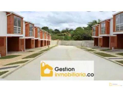 se vende casa nueva en conjunto residencial la calleja