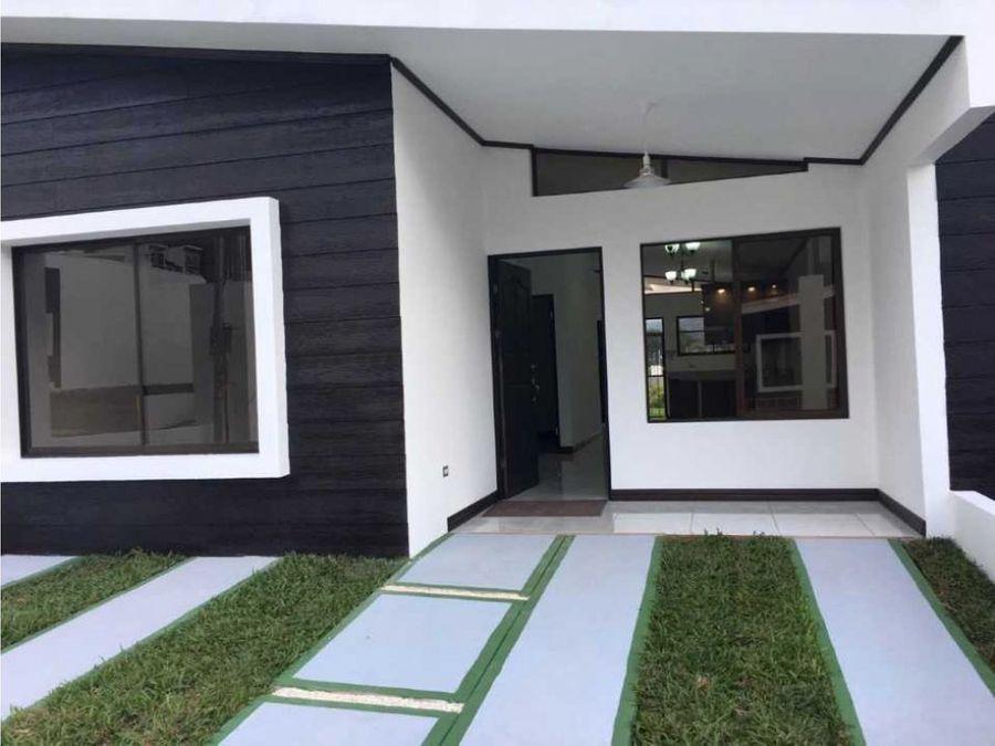 se vende casa nueva en cartago
