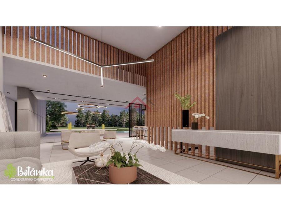 se vende casas campestre condominio botanika