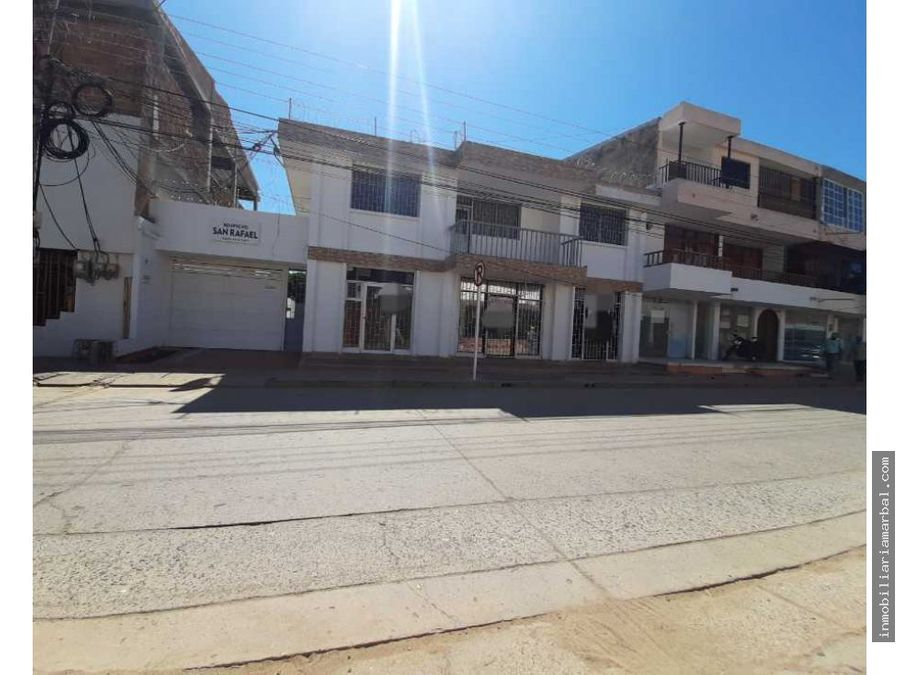 se vende edificio san rafael centro de valledupar