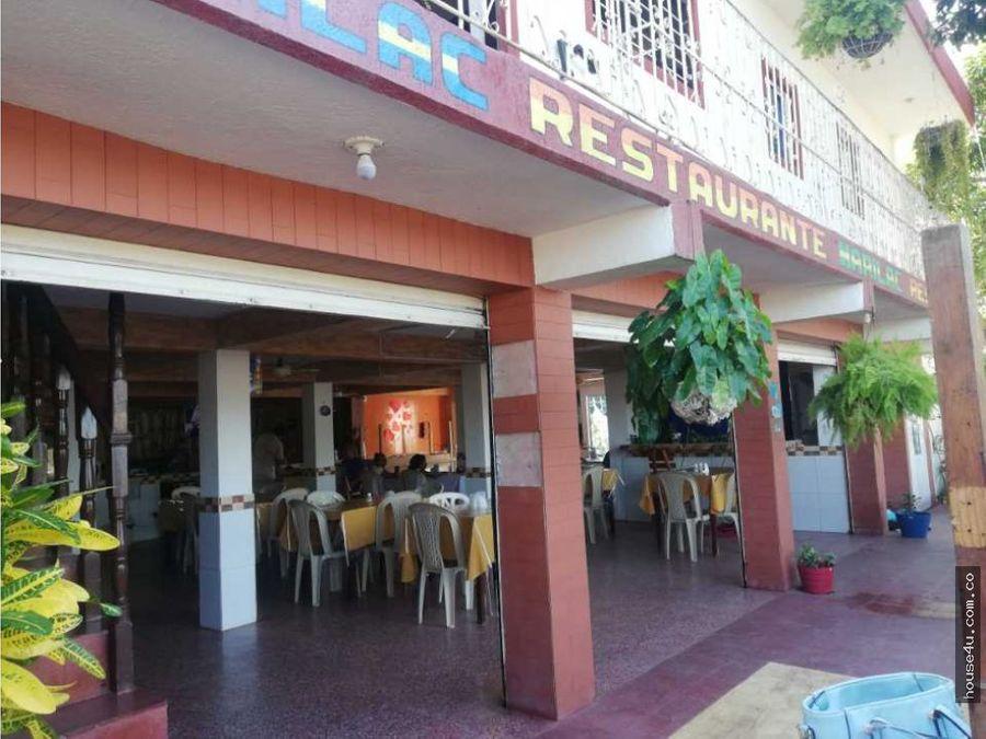 se vende hotel restaurante en suan atlantico