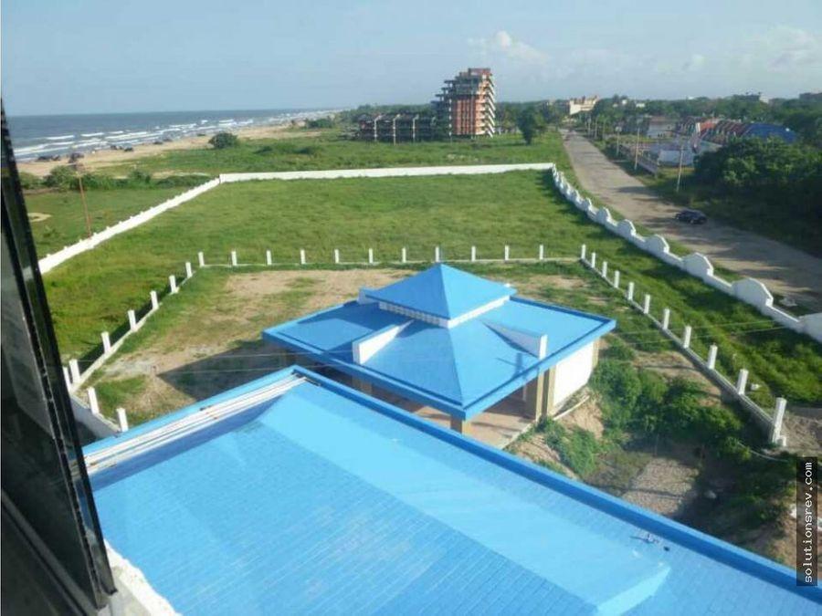 se vende terreno en los canales de rio chico para proyecto hotelero