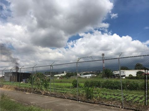 se vende terreno plano para desarrollar cerca del centro de cartago
