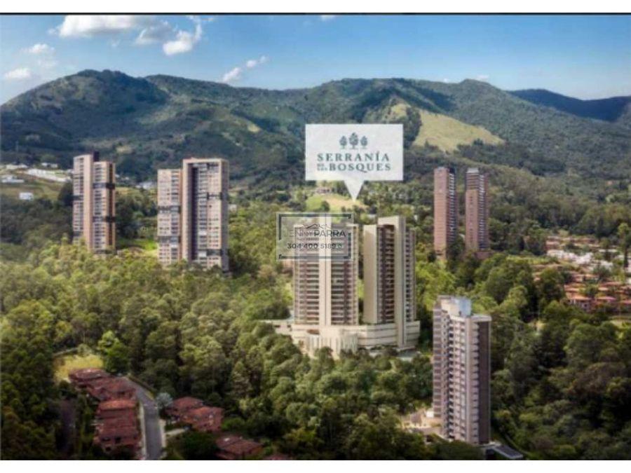 serrania de los bosques apartamentos en poblado medellin