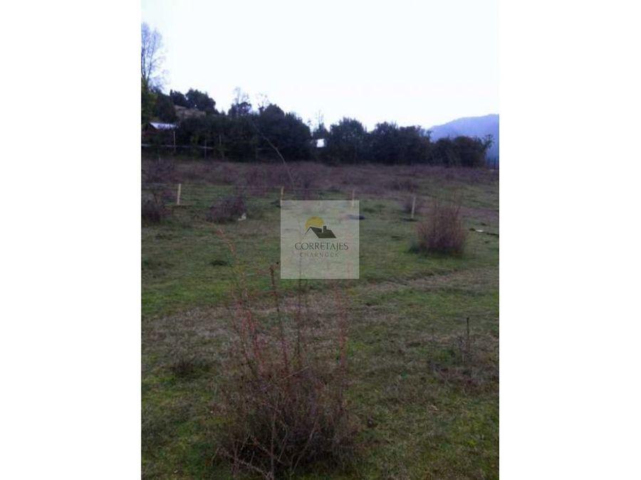 sitio de 500 metros villa el carmen licanray