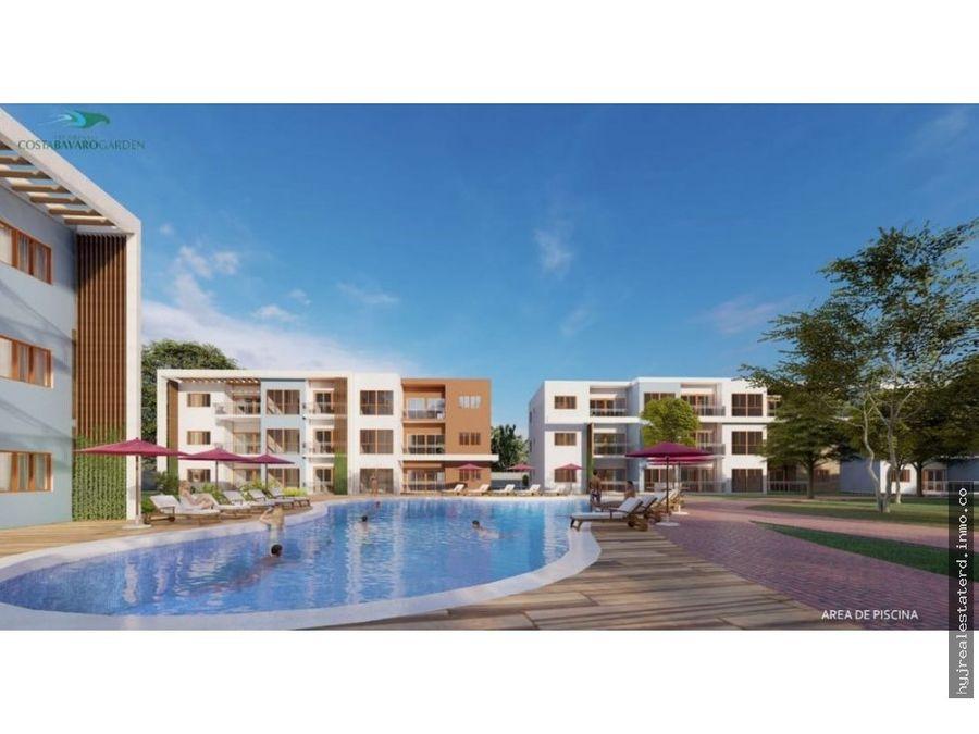 tu apartamento en bavaro con acceso a la playa