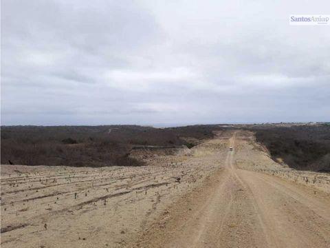terreno 17mil metros sector via san mateo manta