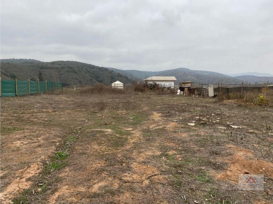 casa en terreno 2500 mt2 sector del manzanar