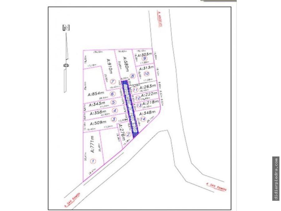 terreno comercial residencial para desarrollar