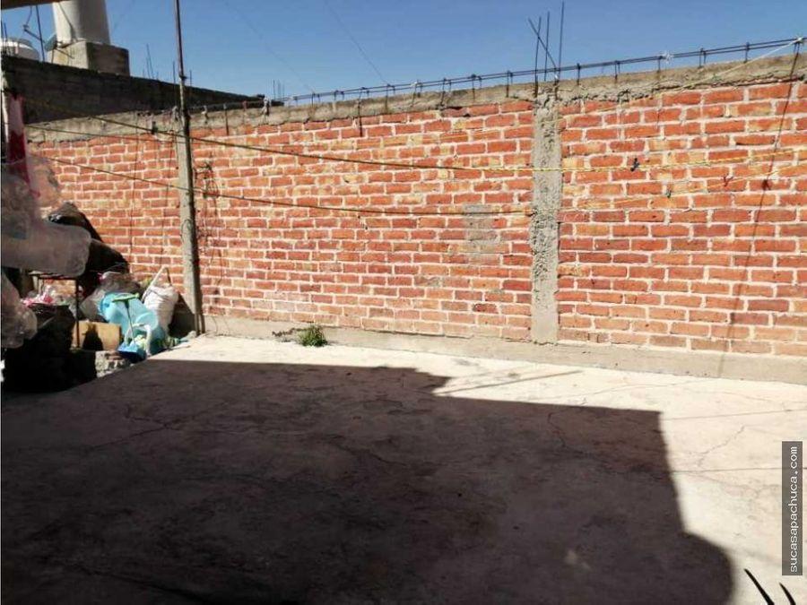 terreno con construcciones en el centro de pachuca