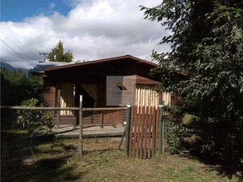 terreno con dos casas los cipreses pucon
