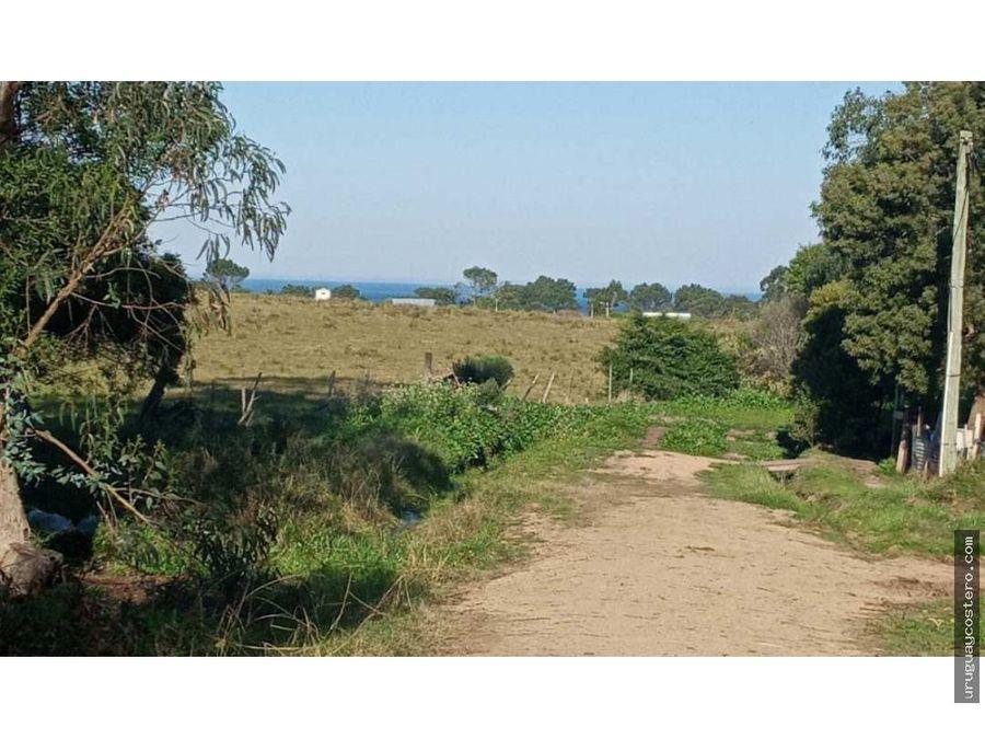 terreno con vista al campo y al oceano balneario buenos aires
