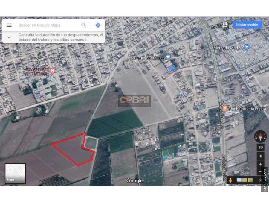terreno calificacion zona de desarrollo urbano