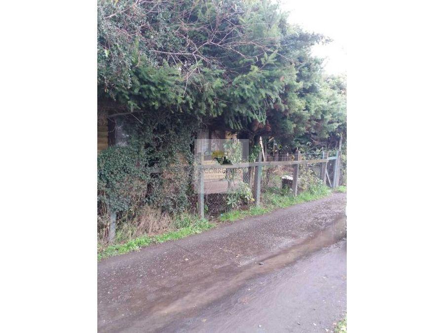 terreno central orilla camino pucon