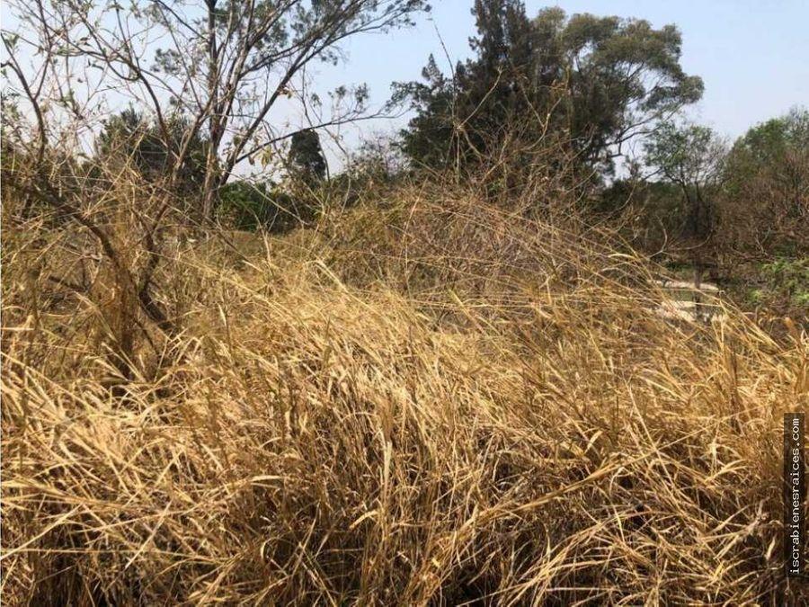 terreno a campo de golf en lomas de cocoyoc