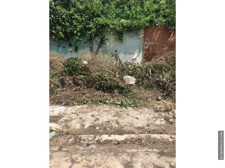 terreno baldio centro maracay