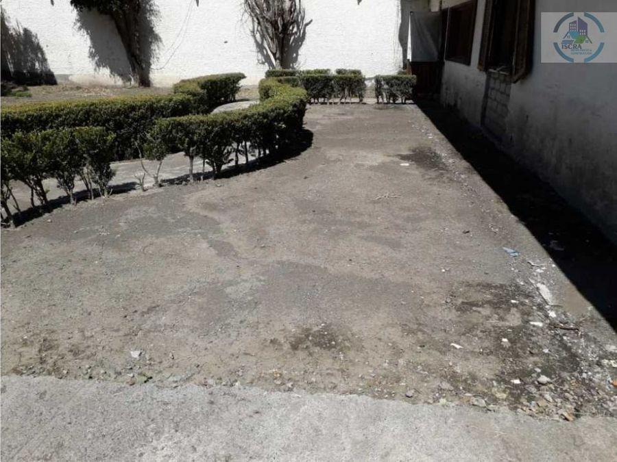 terreno bardeado en venta en alcaldia tlahuac