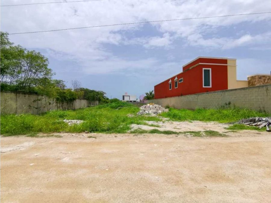 terreno de venta en dzitya merida en la zona norte