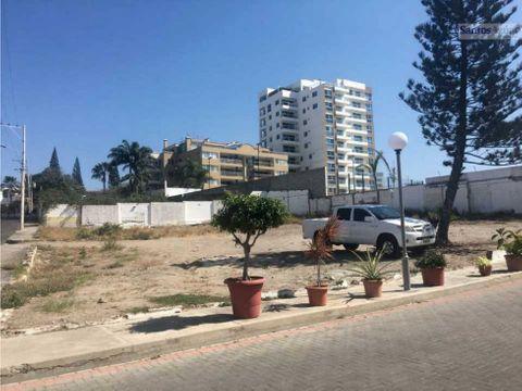 terreno en conjunto privado sector barrio umina manta