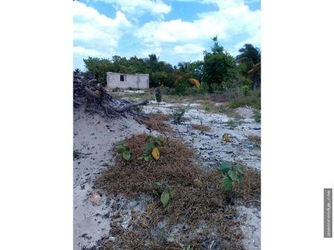 terreno en chelem en esquina yucatan mexico