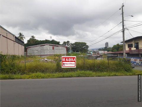 terreno en arrendar pueblo nuevo rah pa 20 9403