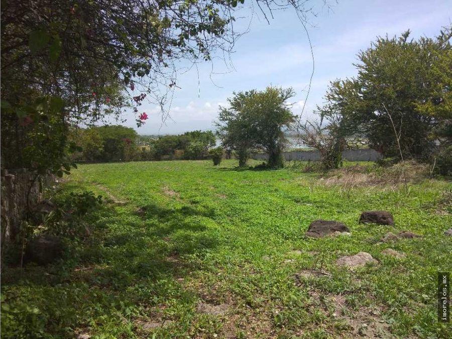 terreno en la laguna de miacatlan morelos