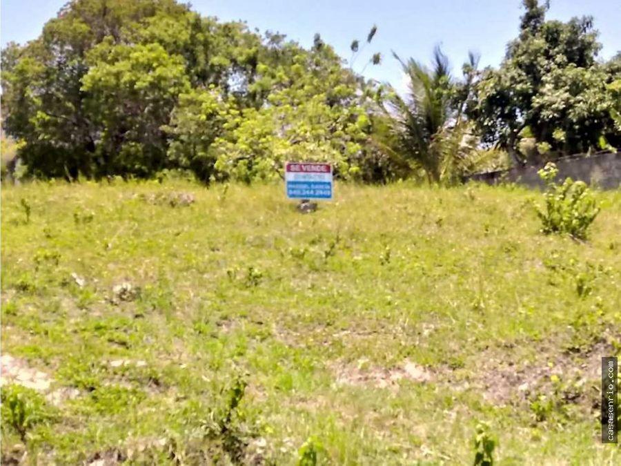 terreno en rio san juan de 931 mts a 2 minutos de playa caleton