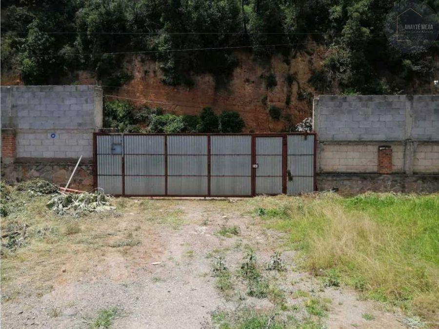 terreno en venta con casa en km32 a chimaltenango sacatepequez