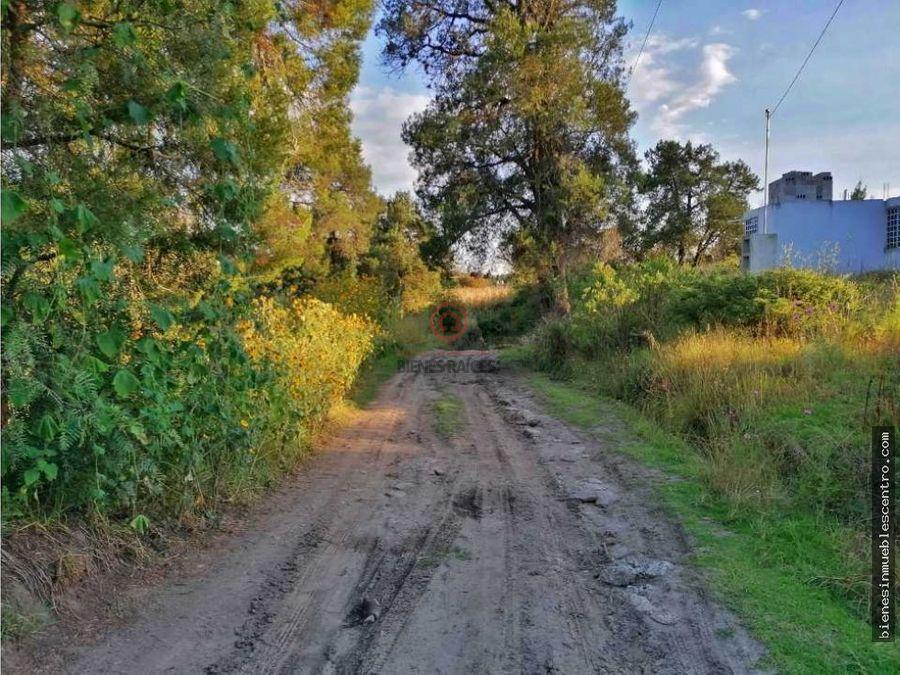 terreno en venta yauhquemehcan atlihuetzia tlaxcala 6885m2