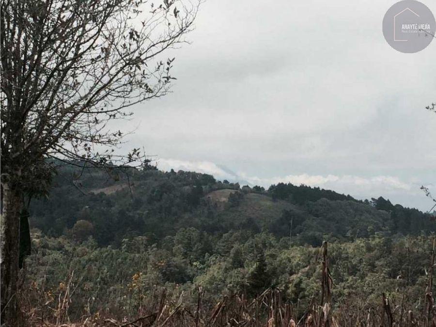terreno en venta en el platanar san jose pinula