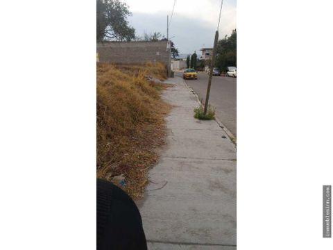 terreno en venta en municipio de chiautempan