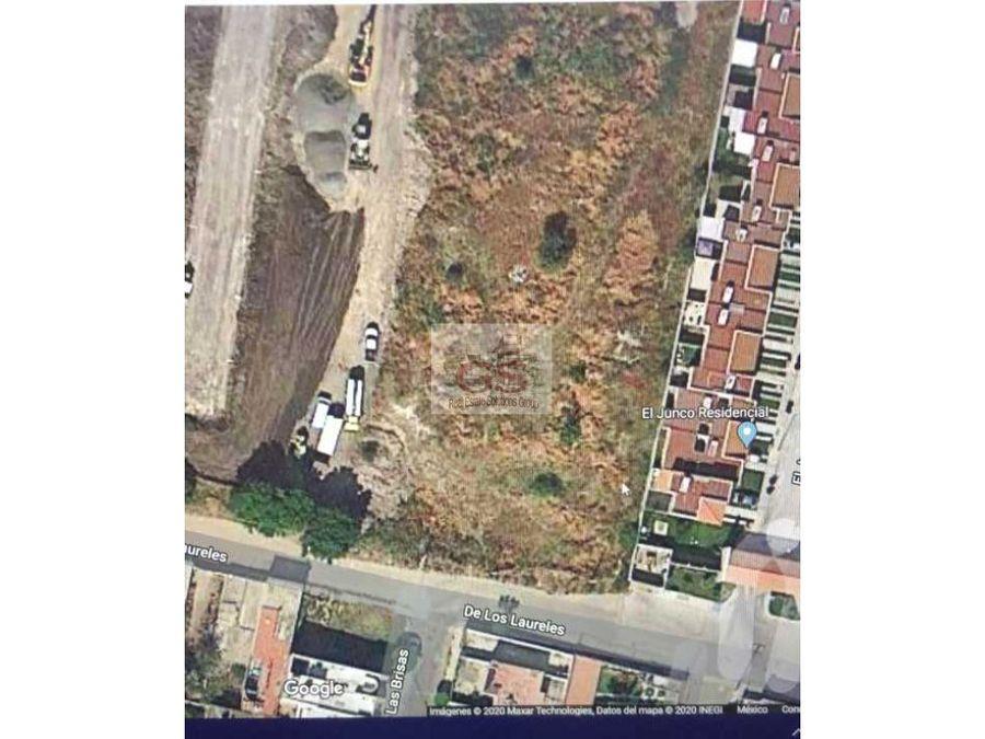 terreno en venta el junco residencial celaya gto