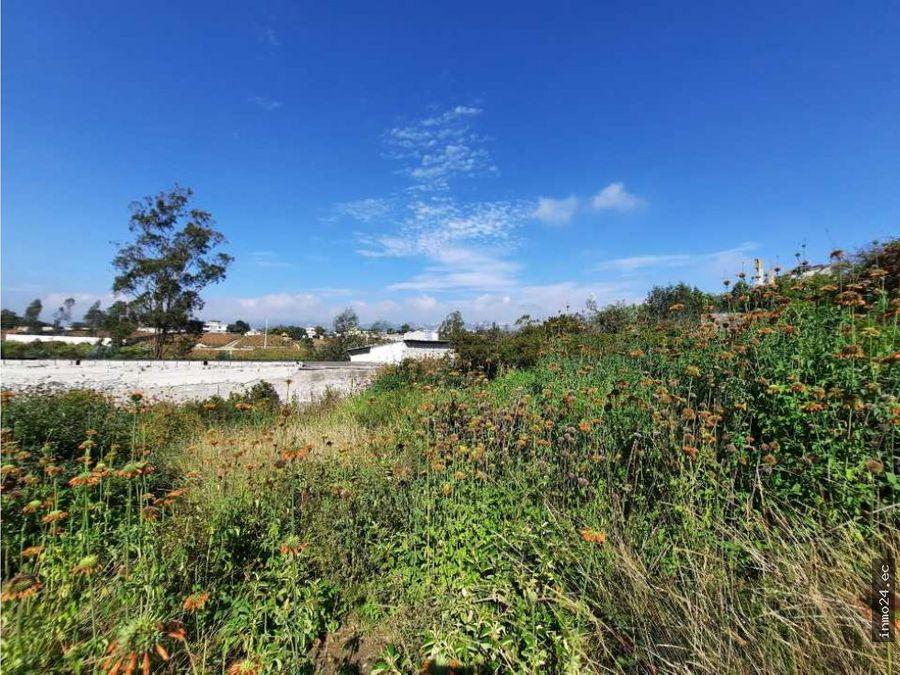 terreno en venta sector norte calderon landazuri