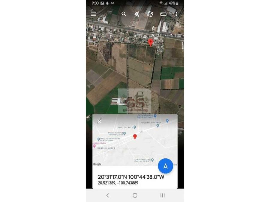 terreno en venta rancho nuevo 33 hectareas