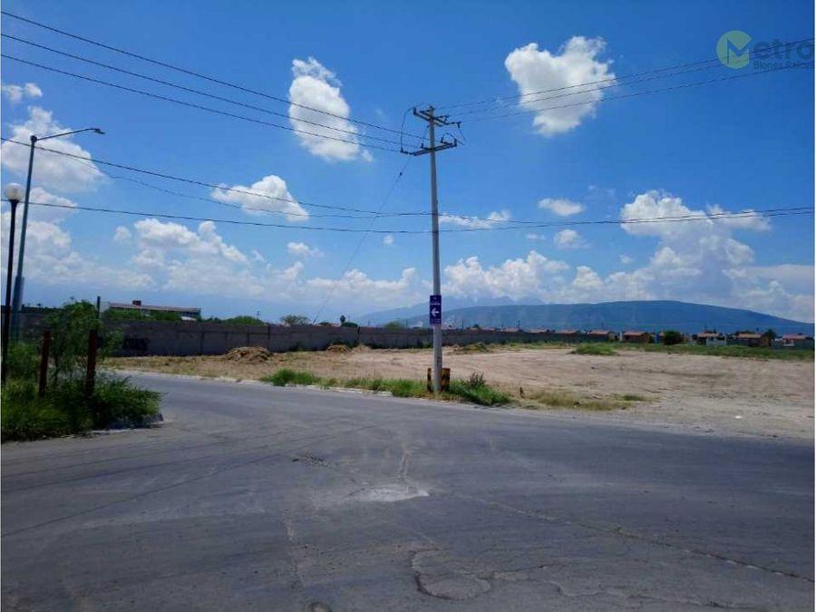 terreno en venta ubicado en apodaca asg