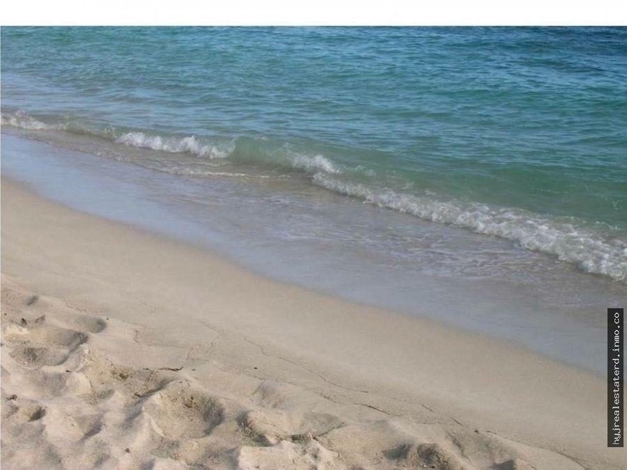 terreno frente a la playa en juan dolio
